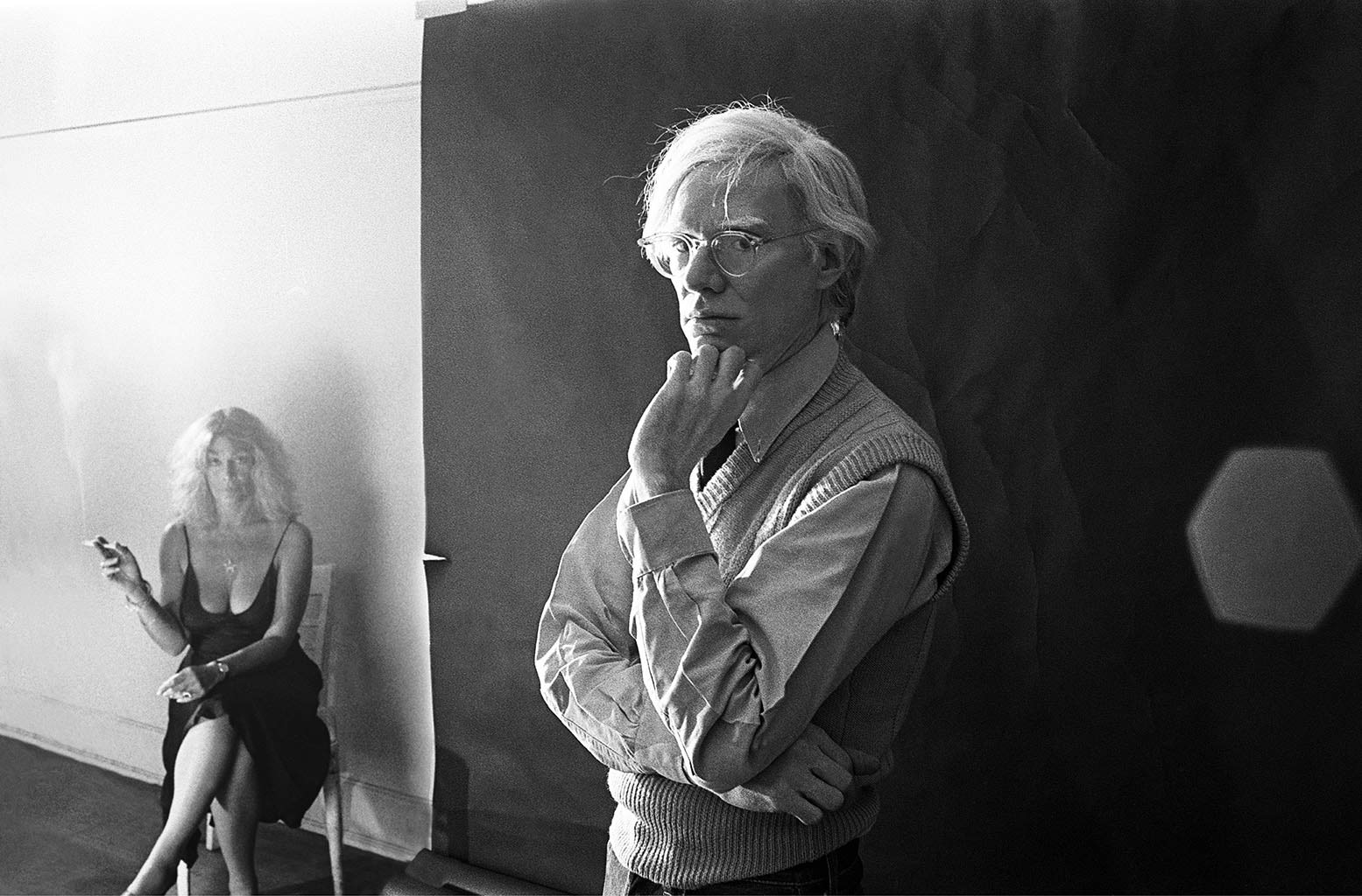 Andy Warhol And Sylvia Miles Shot By Michael Tighe Filter Managementfilter Management