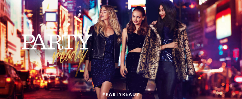02484b36de6d0 Are you Party Ready? Louise Samuelsen shoots NEW LOOK campaign in ...