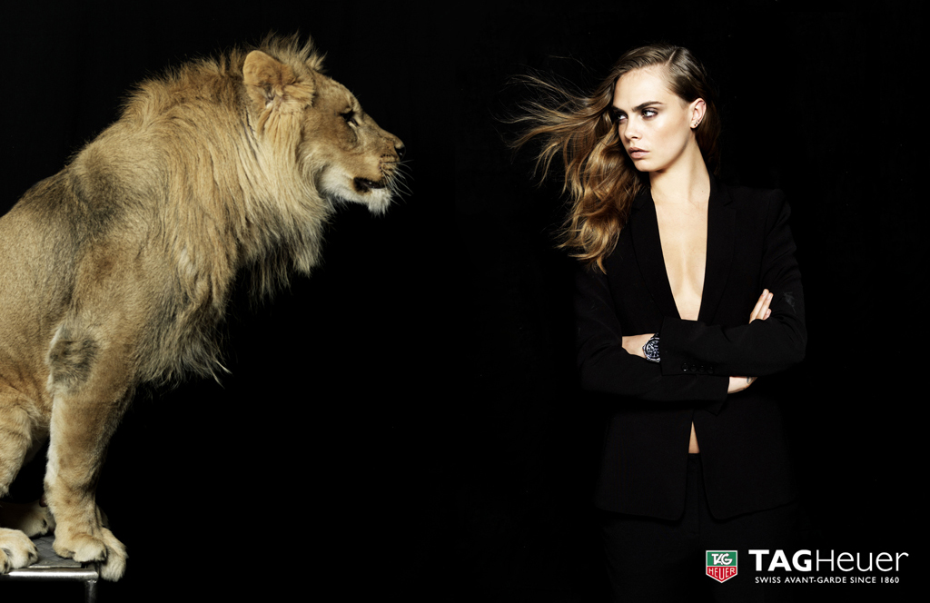 Tag Heuer With Cara Delevingne Shot By Neil Kirk